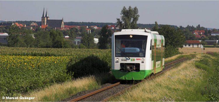 Verlängert: Noch bis 10. Februar an der Online-Umfrage zur Steigerwaldbahn teilnehmen!
