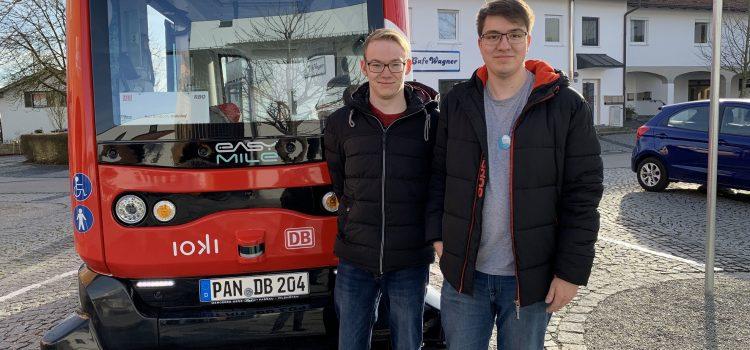Steigerwaldbahn – Interviews zum autonomen E-Bus in Bad Birnbach